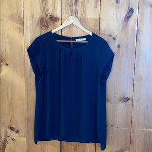 XL Navy Blue Blouse